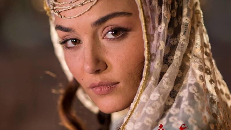 عکسهای هانده ارچل بازیگر ترکیه ای مست عشق