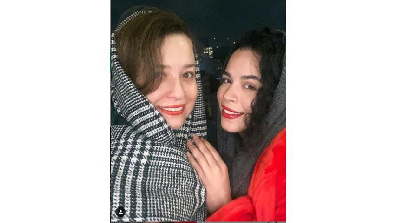 نوشته پراحساس ملیکا شریفی نیا برای خواهرش مهراوه