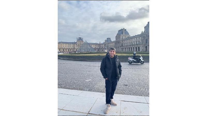 حمید گودرزی در پاریس جای دوستان را خالی کرد