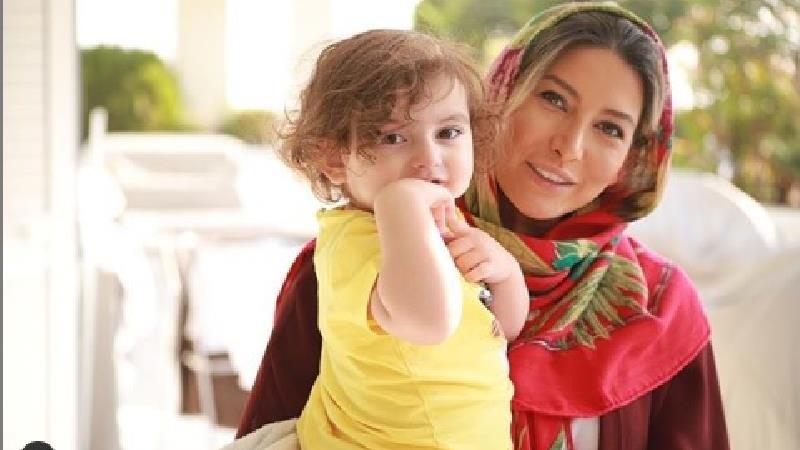 فریبا نادری با دلنوشته و عکسی سرشار از عشق مادرانه