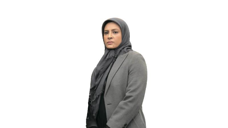 حدیثه تهرانی، بازیگر نقش شیوا در سریال وارش: شیوا شخصیت خاکستری دارد