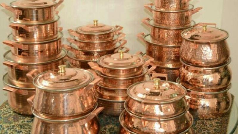 فوت و فنهای آشپزی با ظرف و ظروف مسی