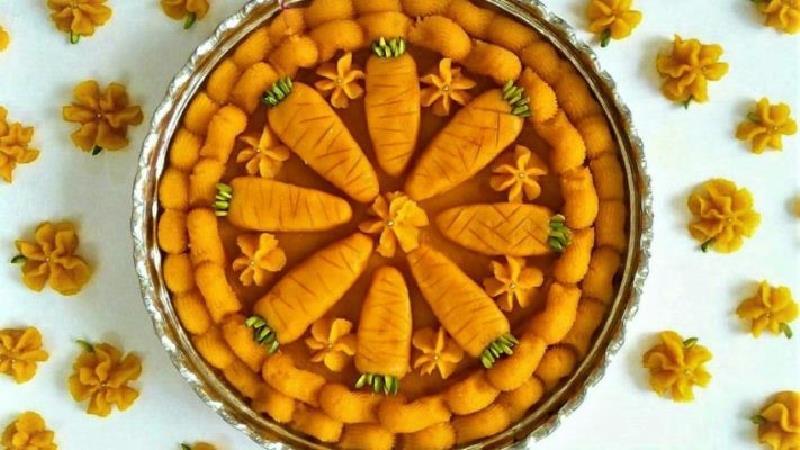 دستور پخت کامل حلوای هویج مجلسی