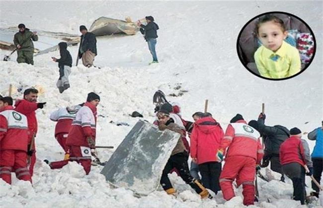 مرگ تلخ مادر و دختر زیر آوار برف