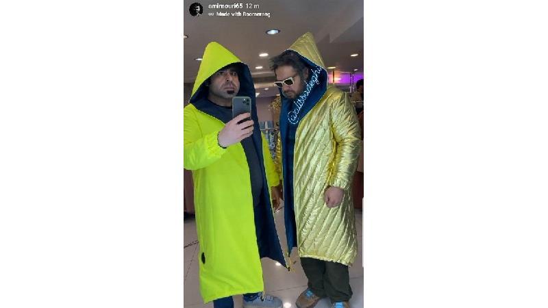 تیپ عجیب علی صادقی و امیر نوری، بازیگران طنز