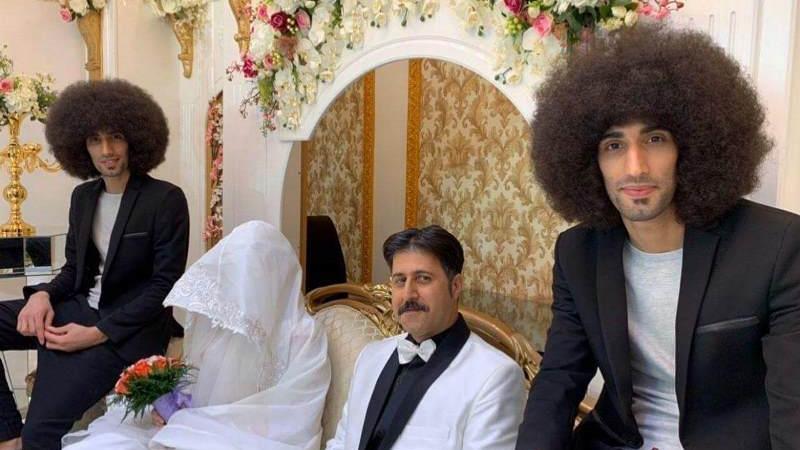 عکسی از مراسم عروسی رحمت در سریال پایتخت 6