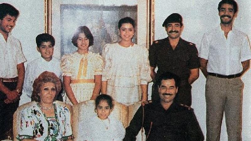زنی مرموز و ترسناک در زندگی صدام