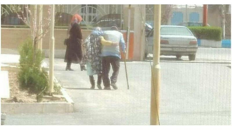 عشق واقعی را در این زوج پیر ببینید
