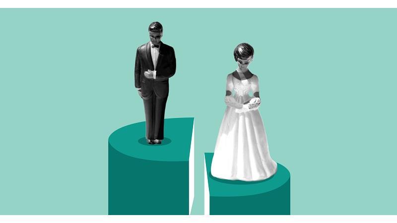 طلاق در شب عروسی