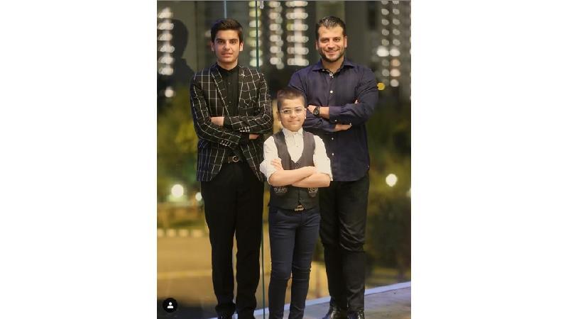 عکس و نوشته روزبه حصاری درباره هر 3 جواد جوادی سریال بچه مهندس