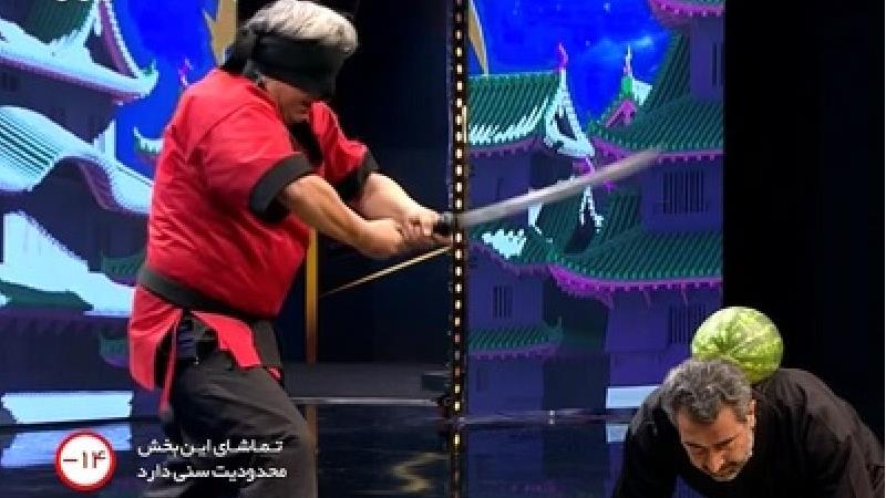 فیلم کامل اجرای هنرهای رزمی با شمشیر توسط گروه الیکا رزم در قسمت 13 برنامه عصر جدید / 17 خرداد