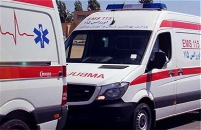 عملیات دشوار اورژانس برای انتقال بیمار 400 کیلویی