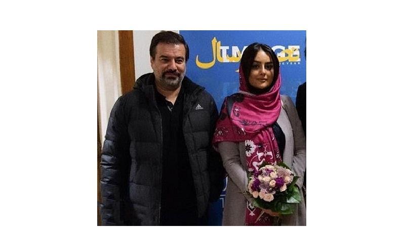عکسی از پیمان قاسمخانی و همسر دومش