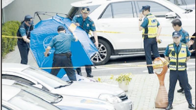 قتل مرد ایرانی در کره جنوبی