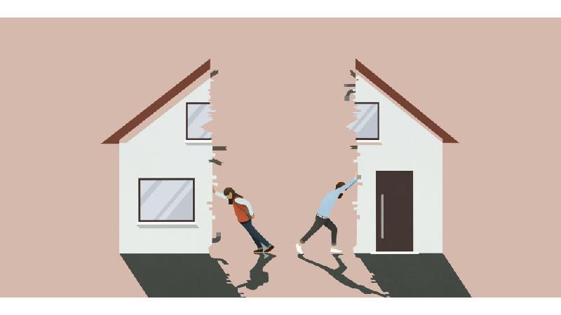 طلاق به خاطر خستگی از زندگی بدون دعوا