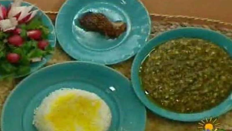 غذای گیلانی ترش تره را چه طور بپزیم