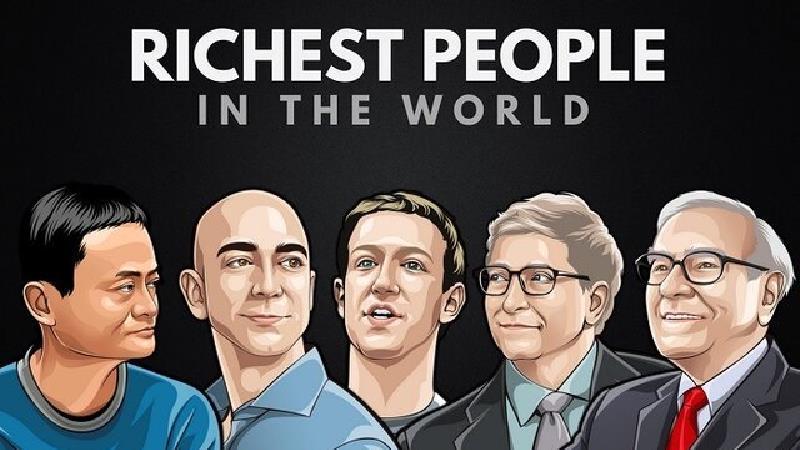 ثروتمندترین افراد در جهان چه کسانی هستند + میزان دارایی