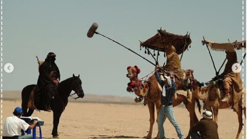 عکسهایی دیدنی از پشت صحنه سریال مختارنامه
