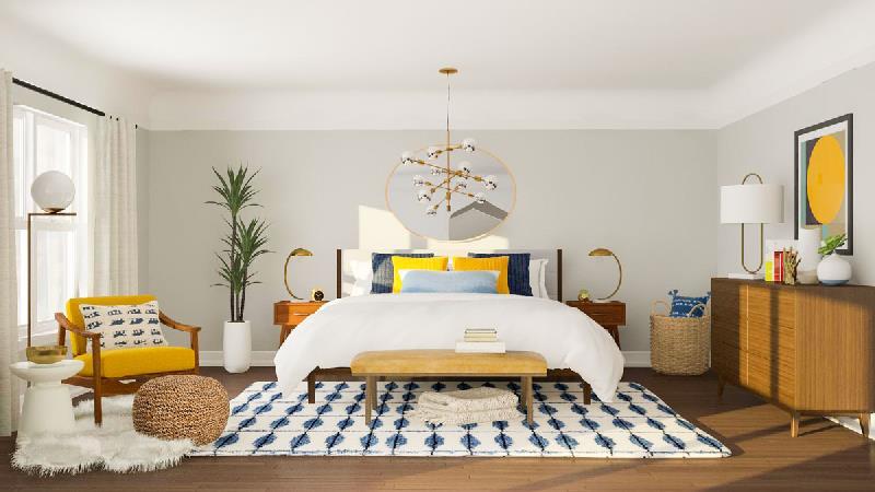 دکوراسیون و رنگ اتاق خواب مدرن و شیک چگونه باید باشد