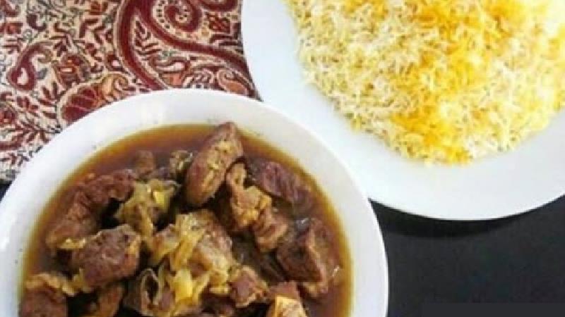 طرز تهیه کامل بز برنج، غذای سنتی لرستان
