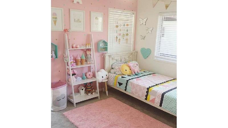 عکسهایی از دکوراسیون و طراحی اتاق خواب دخترانه