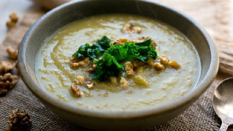 سوپ شلغم و قارچ، طرز تهیه کامل
