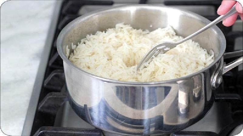 ترفندهایی برای پخت برنج کته و آبکش