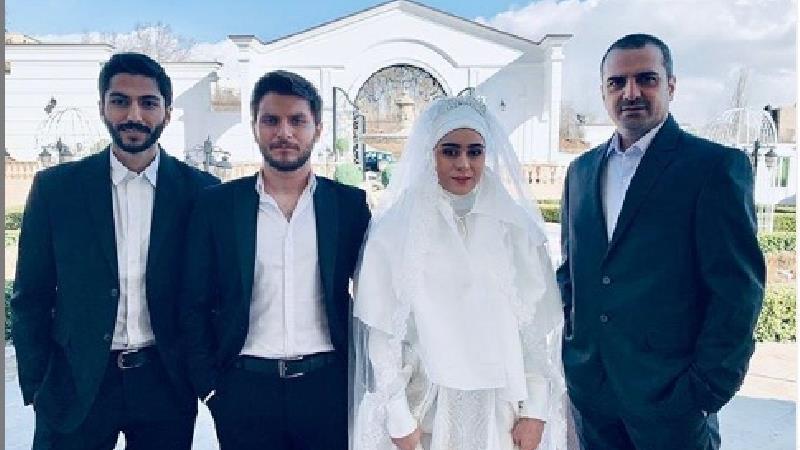 عکسی از عروسی هاشم و نغمه در سریال از سرنوشت