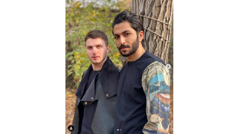 رفاقت دارا حیایی و کیسان دیباج خارج از سریال از سرنوشت