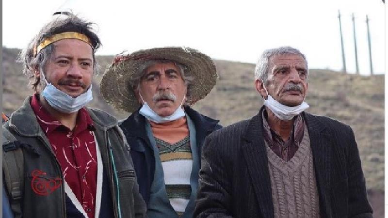 عکسی از علی صادقی در فصل سوم سریال نون-خ