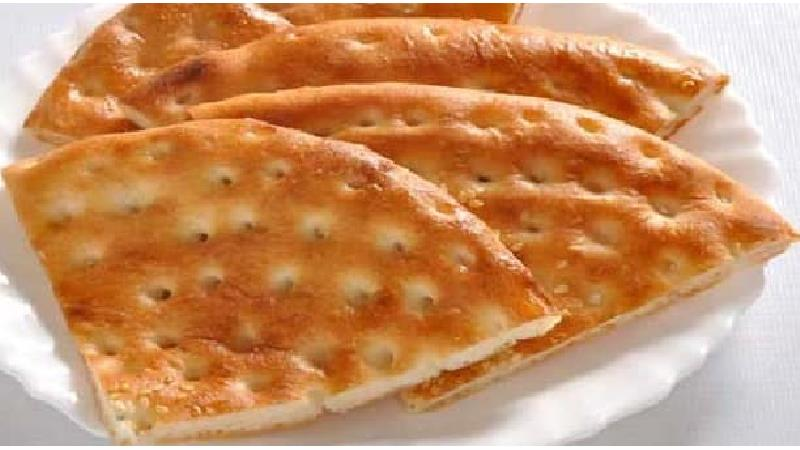 طرز تهیه نان شیرمال ساده و نان فطیر خانگی برای صبحانه