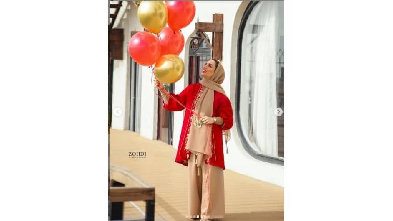 عکس هایی از جشن تولد بانوی سلبریتی