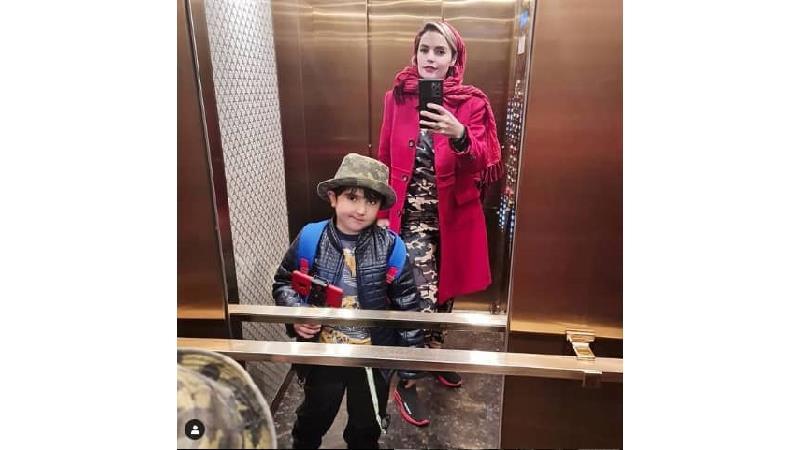 عکس های دیدنی سپیده خداوردی با پسرش