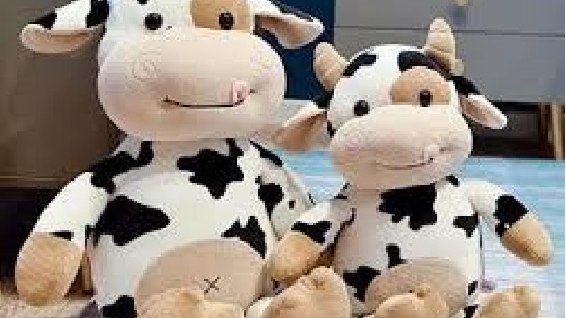 آموزش درست کردن عروسک نمدی گاو برای سفره هفت سین سال 1400