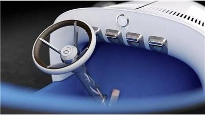 گزارش تصویری/ جدیدترین بنز طراحی شده فقط 100 کیلومتر سرعت دارد