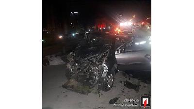 عکسهایی از تصادف مرگبار در بزرگراه خرازی