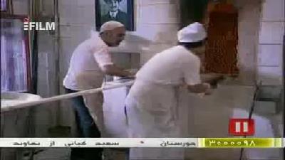 پشت صحنه بامزه از علی صادقی