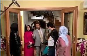 فیلمی جدید از پشت صحنه سریال گیسو؛ عاشقانه 2