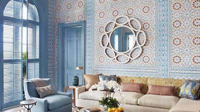 چگونه کاغذ دیواری مناسب برای خانه مان انتخاب کنیم