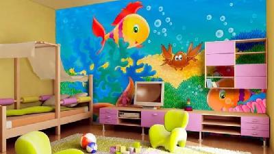 بهترین رنگ برای اتاق کودک چیست