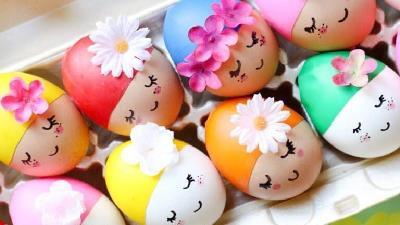 چگونه زیباترین تخم مرغ رنگی را برای سفره هفت سین عید درست کنیم