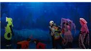 فیلم کامل نمایش گروه کودکان معلول تاتر آفتاب به عنوان گروه مهمان در شب اعلام نتایج عصر جدید