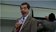 سکانس خنده دار؛ مستر بین در پرواز فرست کلاس