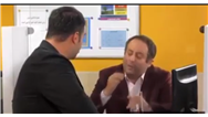سکانسی از سریال طنز ناخونک ؛به جای همه کارمندها کار میکنه