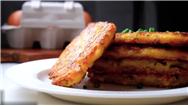 فیلم آشپزی؛ دستور پخت کوکو سیبزمینی خاص و لاکچری برای مهمانیها