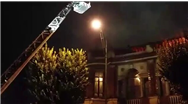 فیلمی تازه از آتش سوزی وسیع در میدان حسن آباد