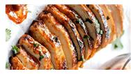 فیلم آشپزی/ دستور پخت یک غذای خاص و ویژه با بادمجان
