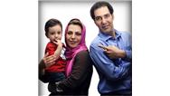 بهنام تشکر و هومن برق نورد در کنار همسران شان