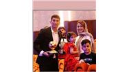 عکسی از علیرضا بیرانوند در کنار همسر و فرزندانش