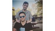 عکسی از شهاب حسینی و پسرش